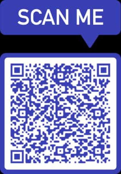 Aqui puede escanear nuestros datos de contacto para su comodidad.